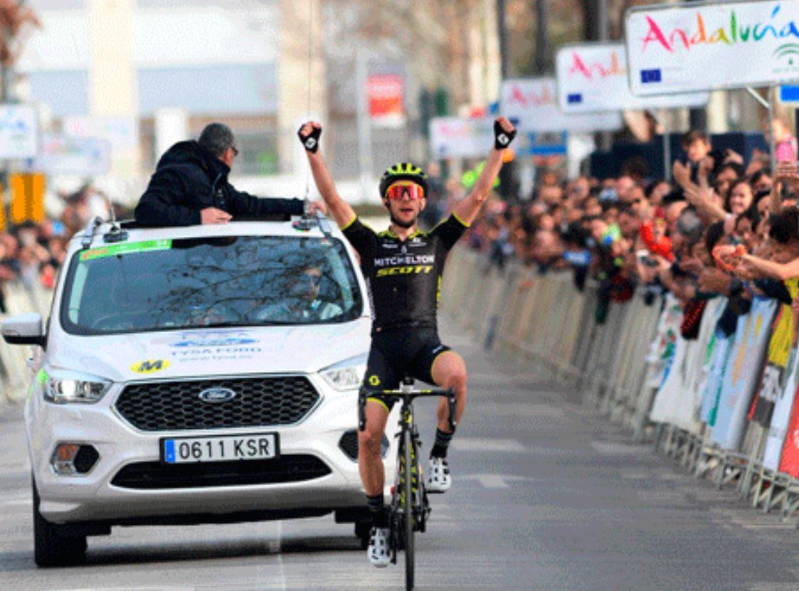 Simone Yates vince la quarta tappa della Vuelta a Andalucia 2019