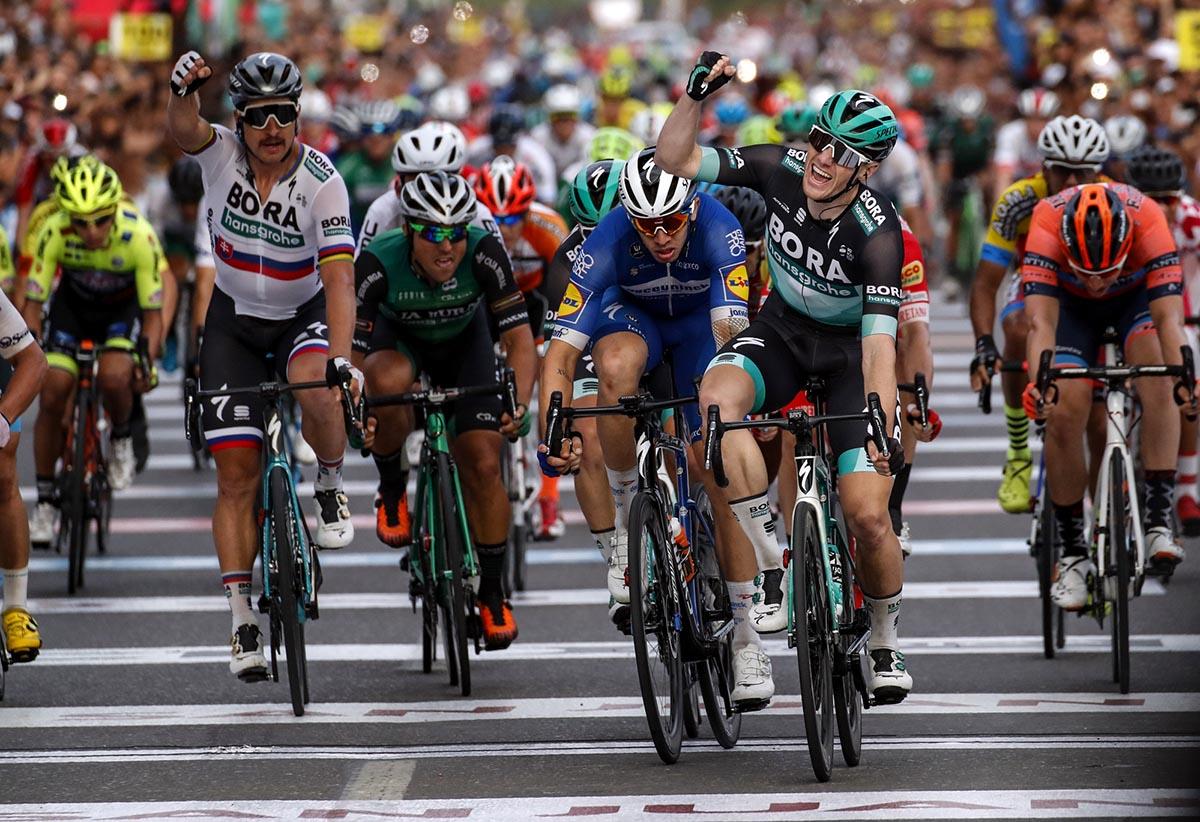 Sam Bennett vince l'ultima tappa della Vuelta a San Juan 2019