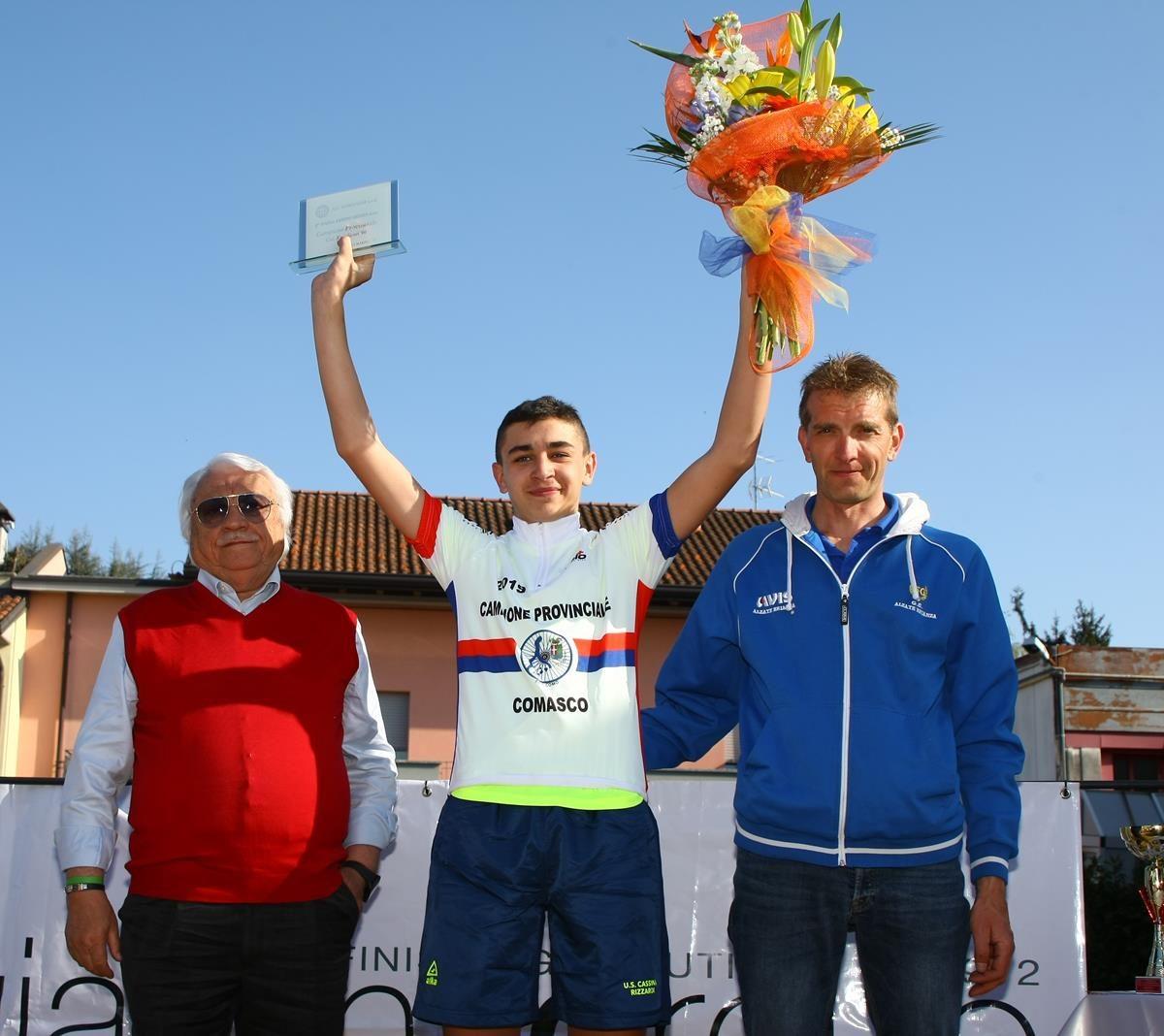 Simone Clerici campione comasco Esordienti 2° anno (foto Berry)