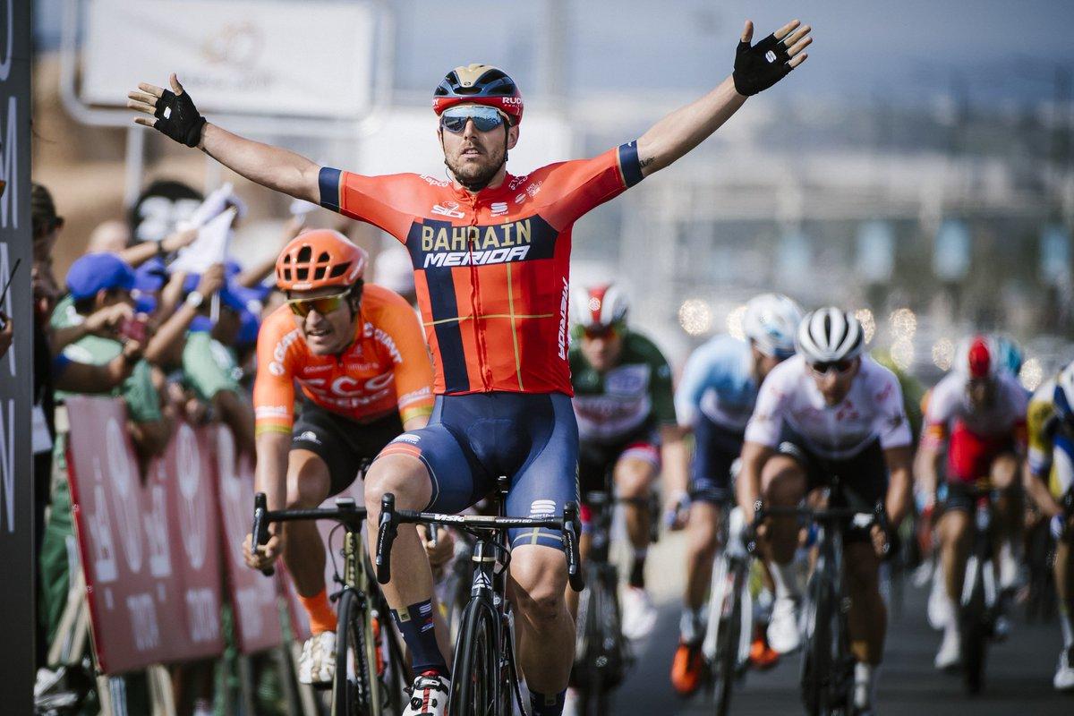 Sonny Colbrelli vince la quarta tappa del Tour of Oman 2019
