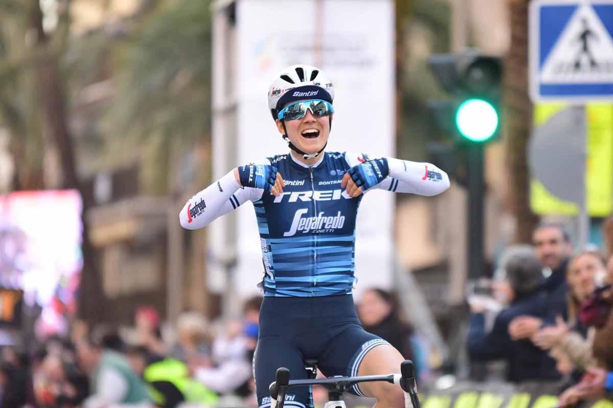 Ruth Winder vince la prima tappa della Setmana Valenciana 2019