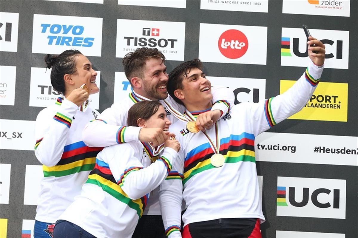 I campioni del mondo BMX 2019 a Zolder