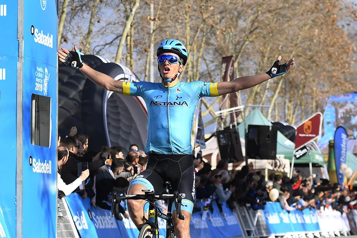Pello Bilbao vince la prima tappa della Vuelta a Murcia