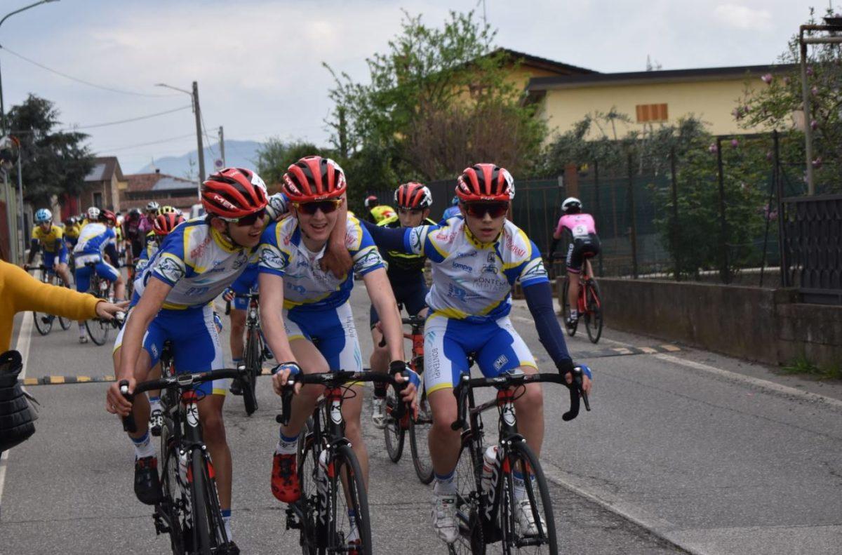 Gli allievi della Progetto Ciclismo Rodengo Saiano fanno festa a Lodetto di Rovato