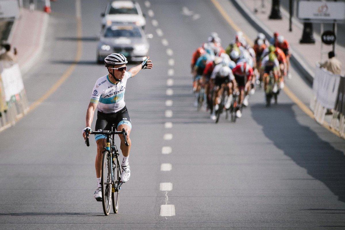 Alexey Lutsenko vince la seconda tappa del Tour of Oman 2019