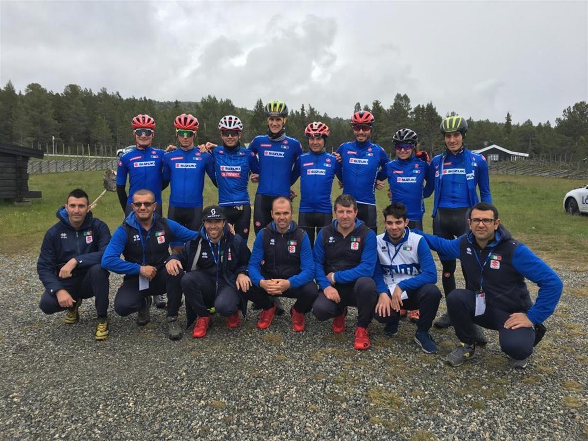 La Nazionale Italiana al Campionato Europeo Marathon 2019 in Norvegia