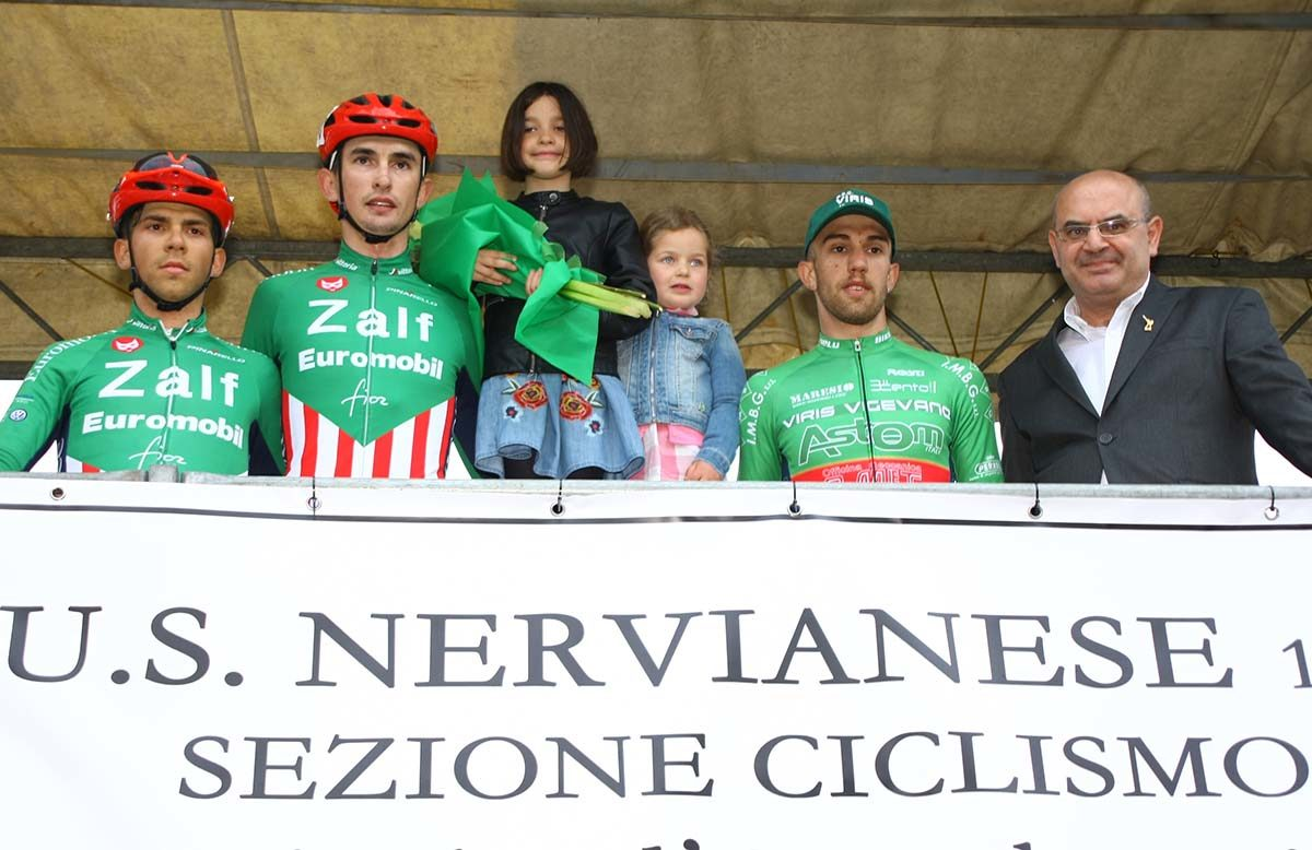 Il podio di Nerviano (foto Berry)