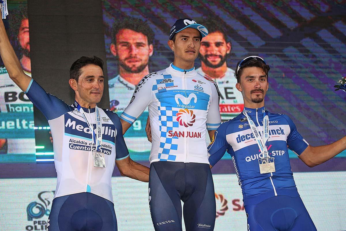 Il podio finale della Vuelta a San Juan 2019