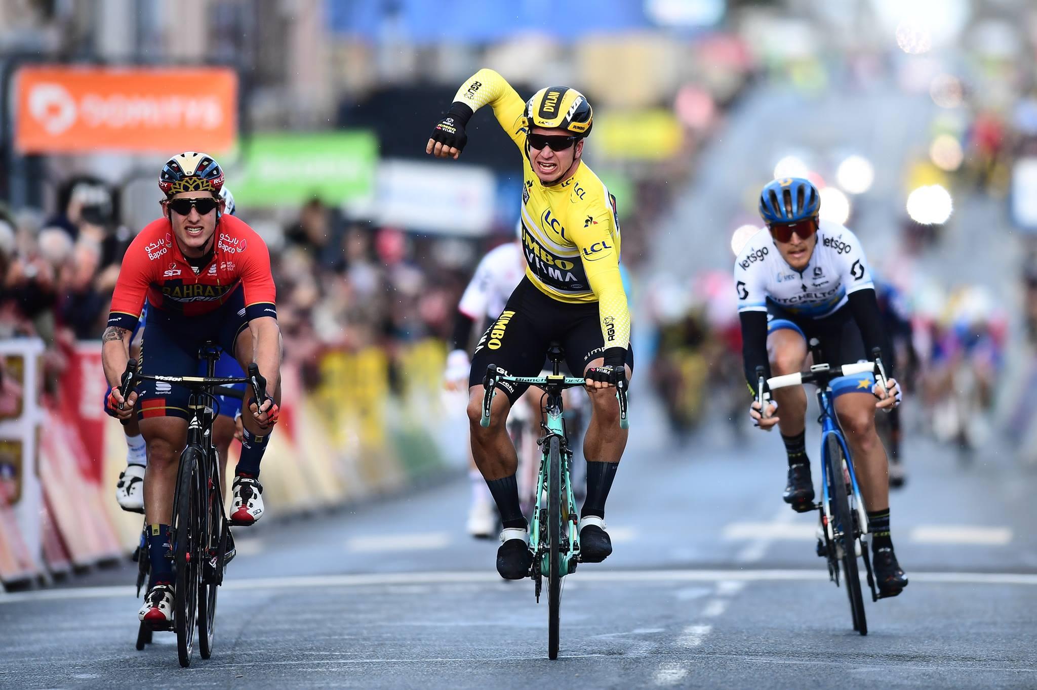 Dylan Groenewegen vince la seconda tappa della Parigi-Nizza