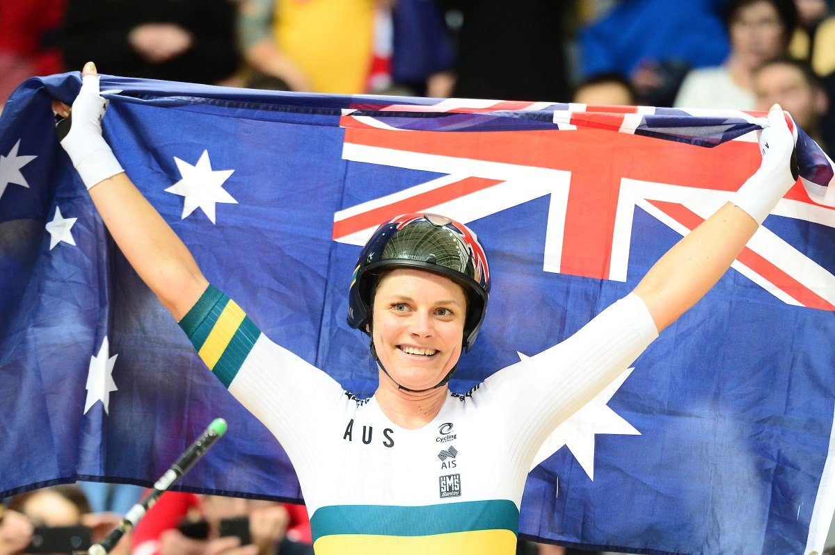 L'australiana australianaAshlee Ankudinoff vince il Mondiale dell'Inseguimento femminile (foto UCI)