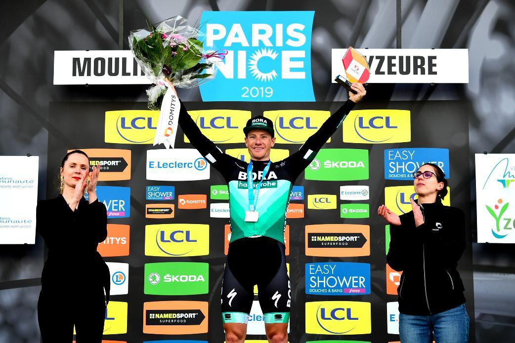 Sam Bennett vincitore della terza tappa della Parigi-Nizza 2019