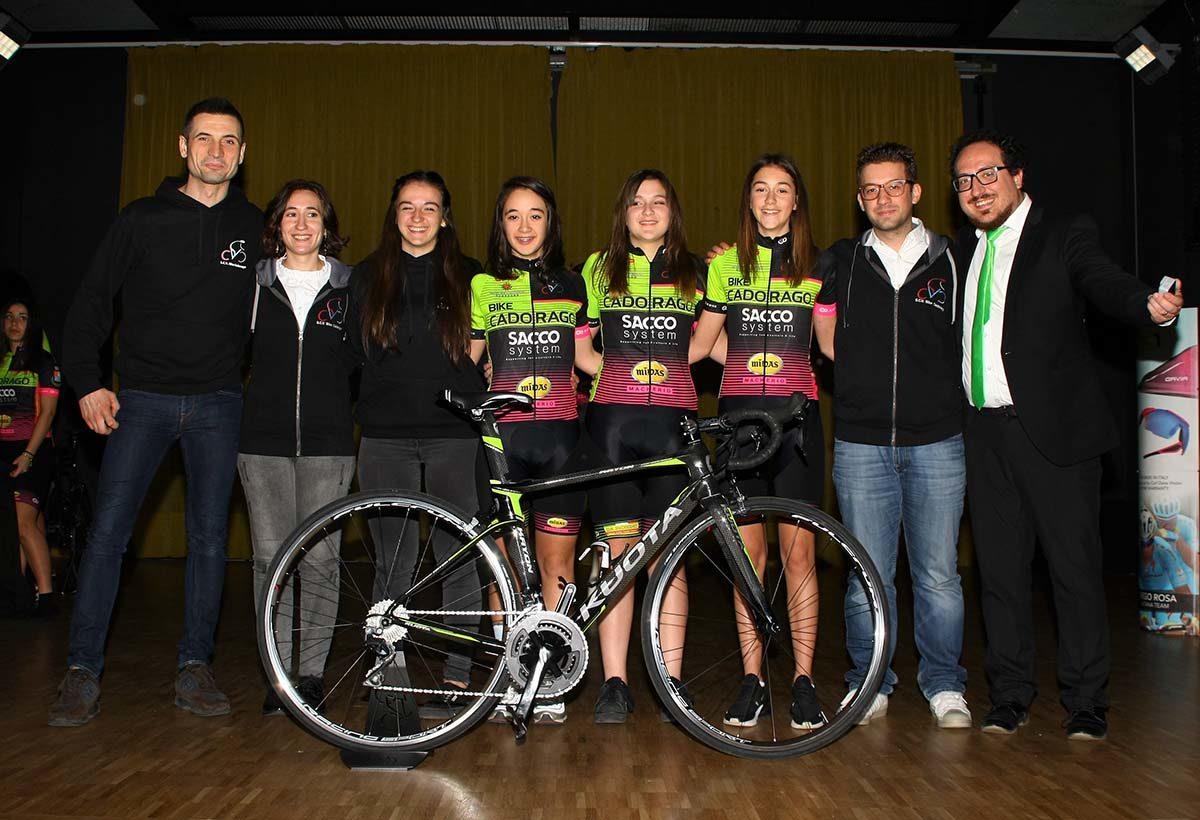 Donne Esordienti 2019 del Bike Cadorago (foto Berry)
