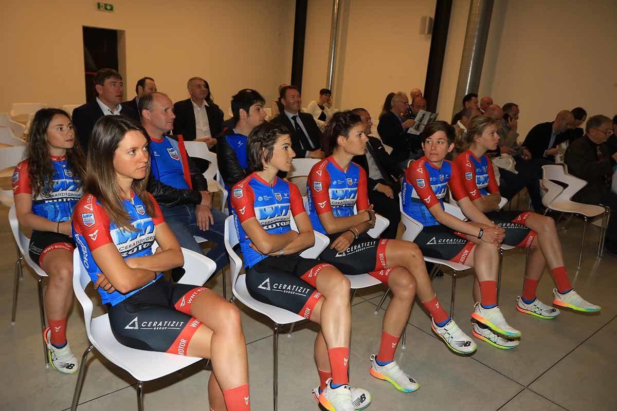 Le ragazze della WNT Rotor Pro Cycling 2019 (foto Fabiano Ghilardi)
