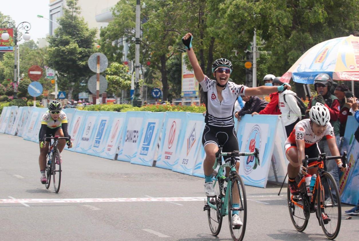 Arianna Fidanza vince la quinta tappa della Biwase Cup in Vietnam