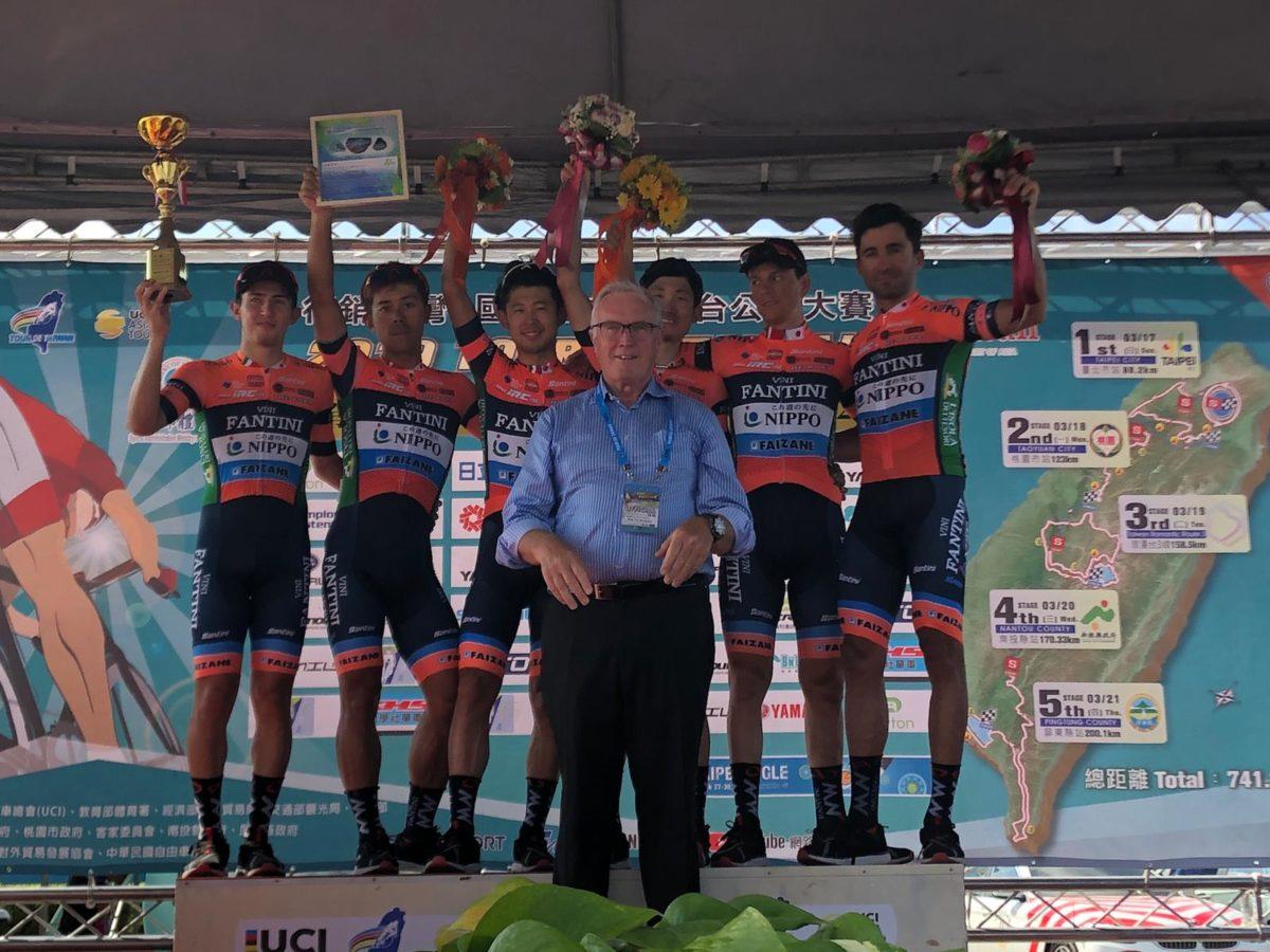 Nippo – Vini Fantini – Faizanè miglior team al Tour de Taiwan