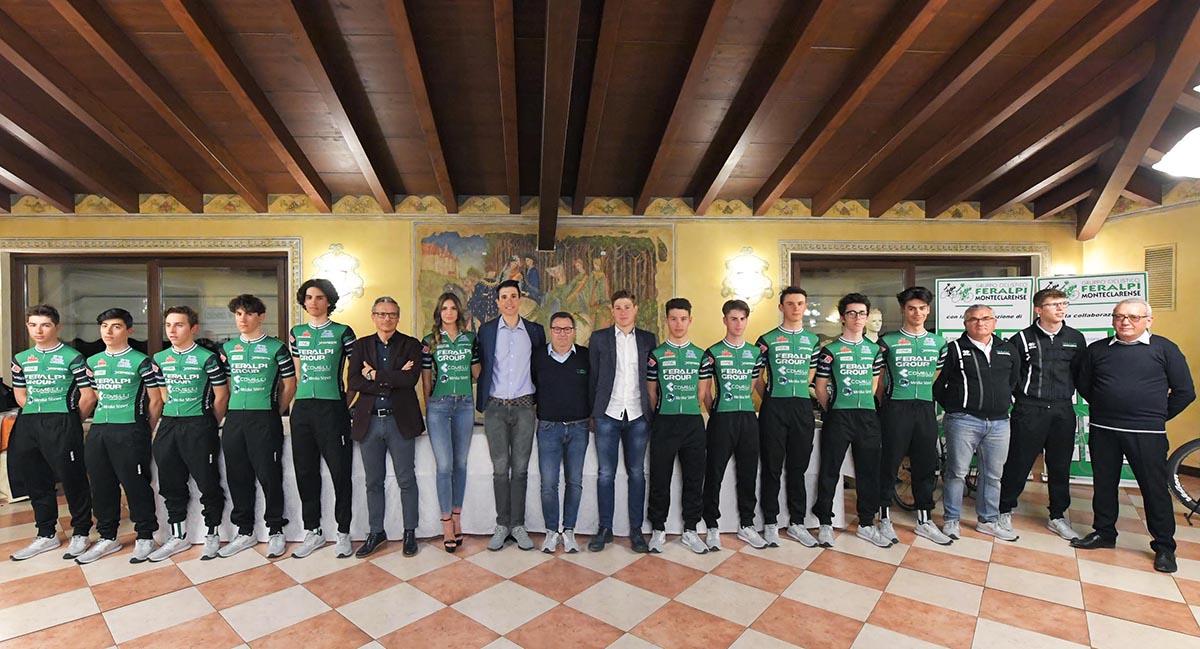 La squadra Juniores 2019 della Feralpi