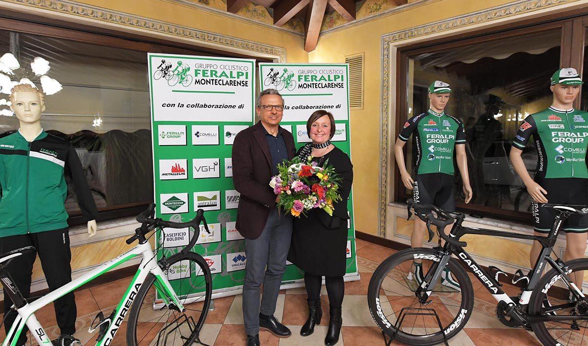Cesare Pasini e Cristina Wargin (foto Rodella)
