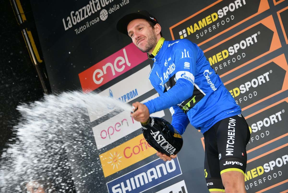 Adam Yates nuovo leader della Tirreno-Adriatico (foto LaPresse)
