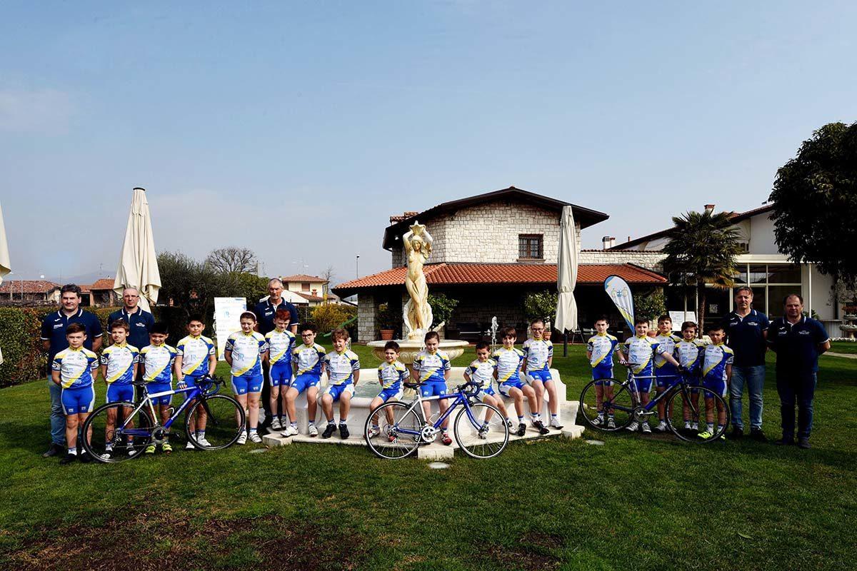 Il gruppo Giovanissimi della Progetto Ciclismo Rodengo Saiano 2019 (foto Diego Zanetti/BICITV)