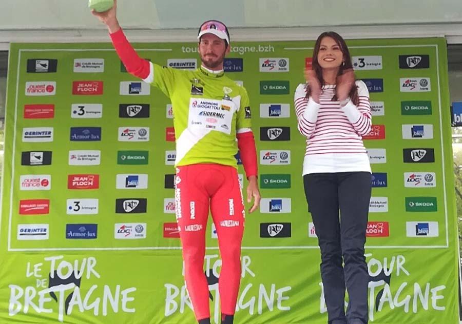 Manuel Belletti vincitore della prima tappa del Tour de Bretagne