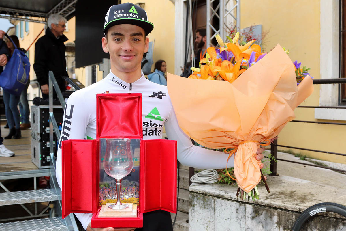Matteo Sobrero vincitore del Palio del Recioto 2019 (foto Photobicicailotto)
