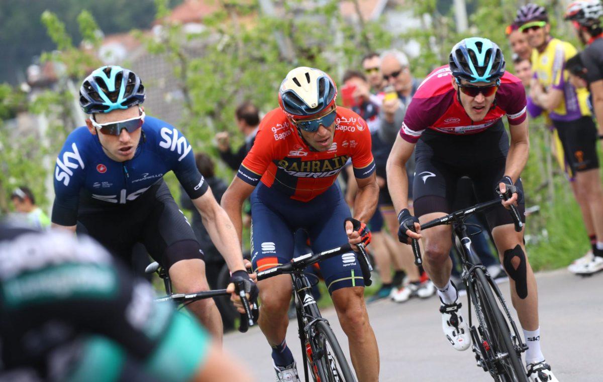 Vincenzo Nibali molto attivo al Tour of the Alps