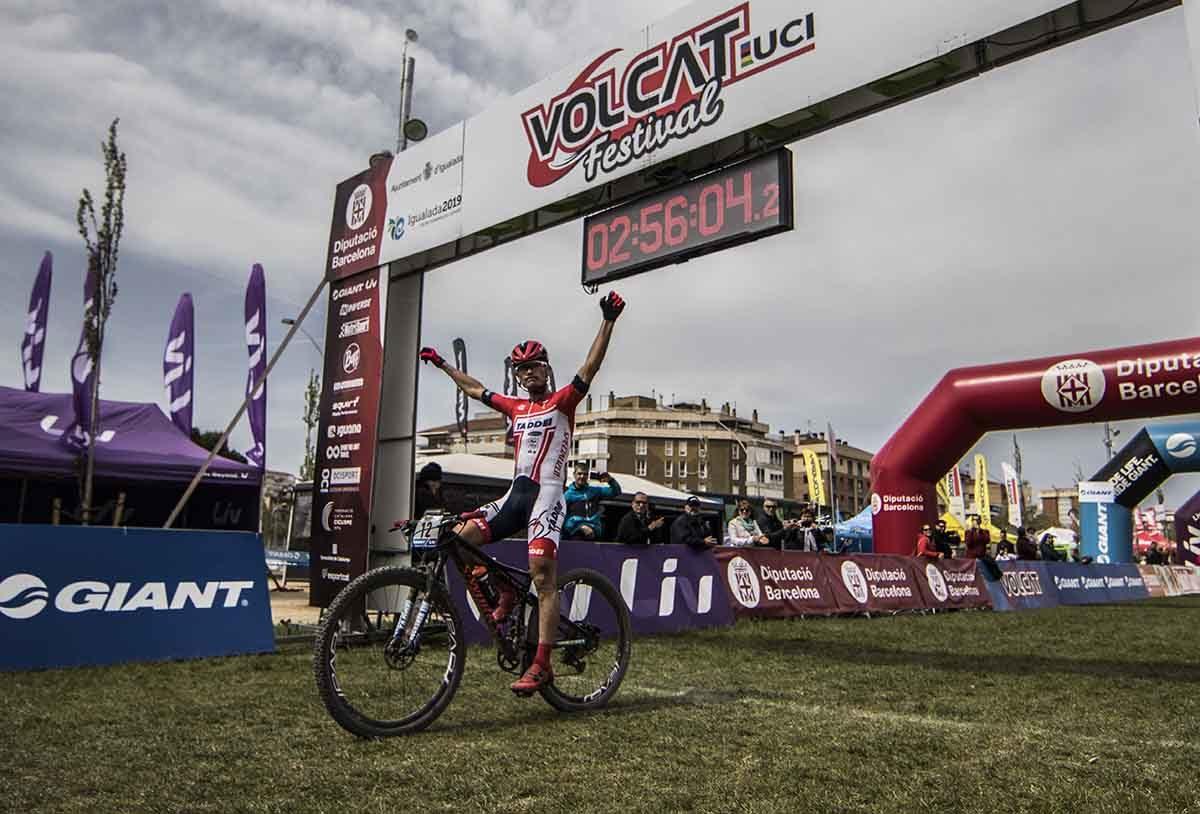 Alexey Medvedev vince la seconda tappa della Volcat 2019 (foto Ocisport)