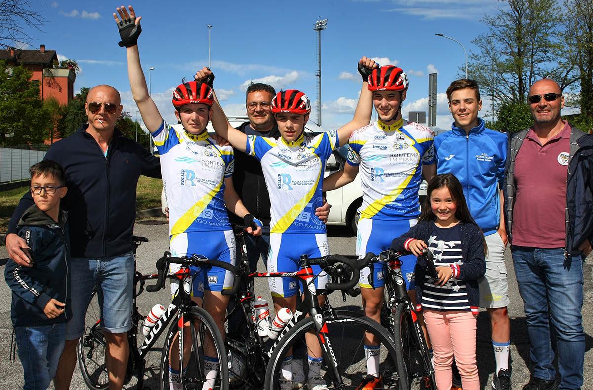 Festa della Progetto Ciclismo Rodengo Saiano a Mariano Comense (foto Berry)