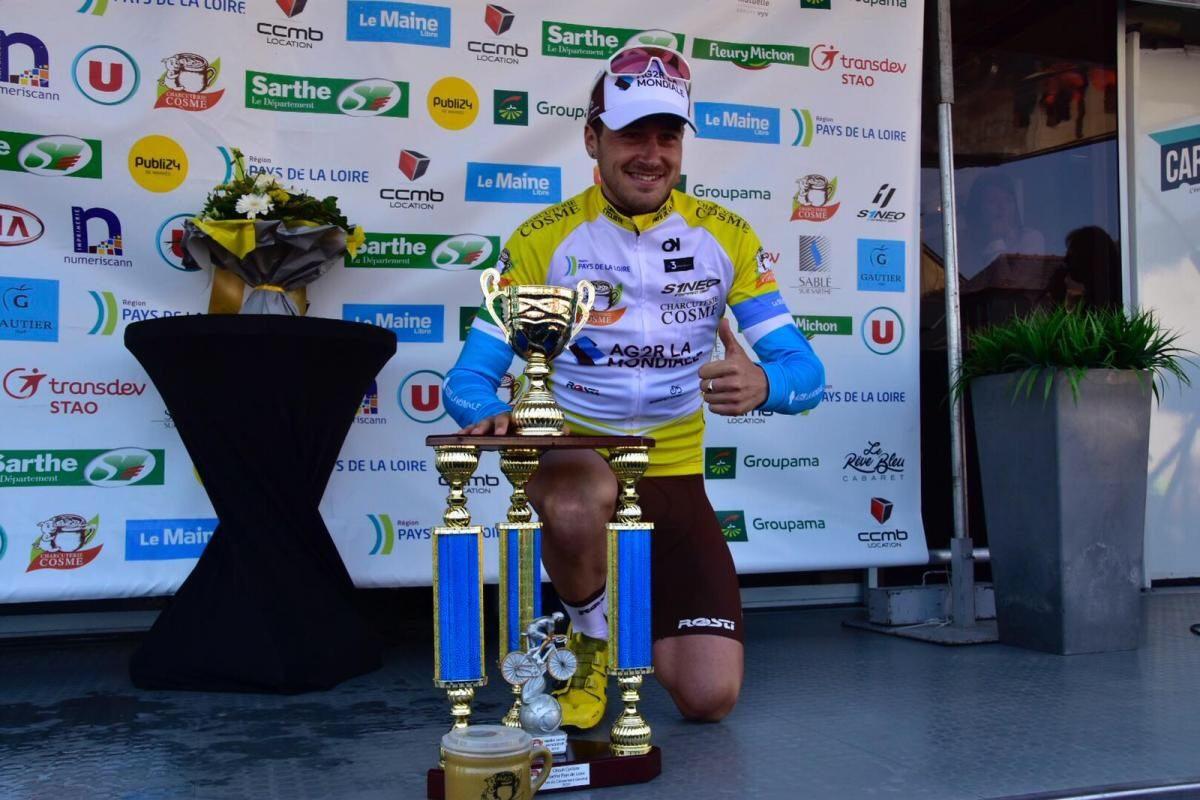 Alexis Gougeard vincitore finale del Circuit Sarthe 2019
