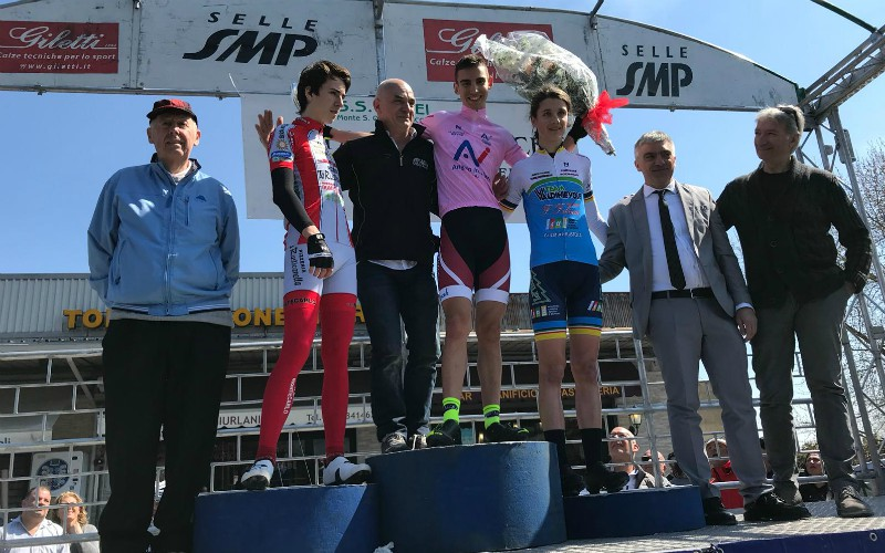 Myles Porcelli vince a Monte San Quirino
