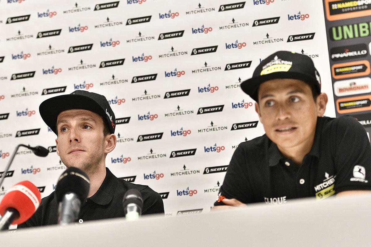 Esteban Chaves e Simon Yates (foto LaPresse)