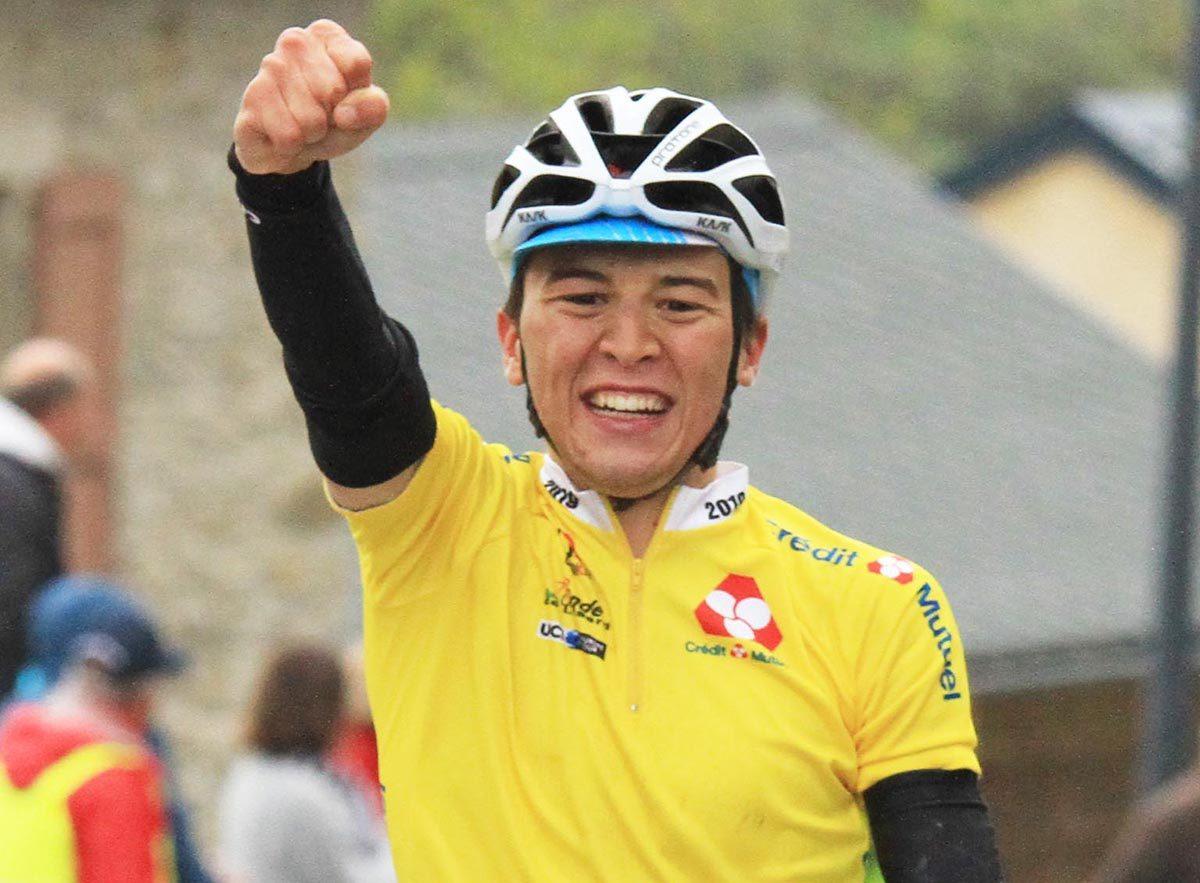 Andrea Bagioli vince la terza tappa della Ronde de L'Isard (foto Rodella)