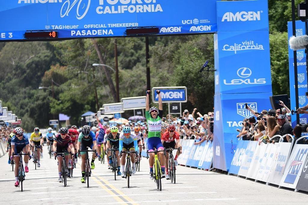 Elisa Balsamo vince la terza e ultima tappa del Women's Tour of California