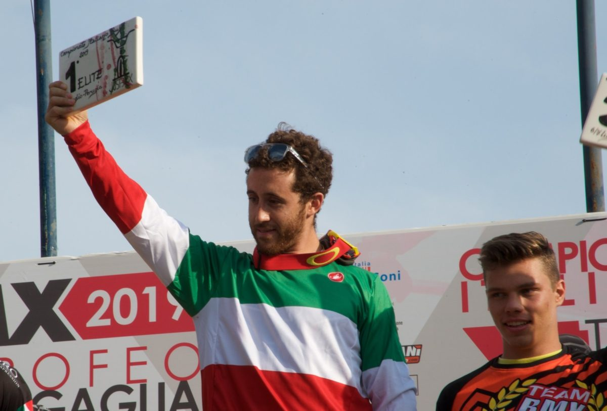 Giacomo Fantoni campione italiano BMX 2019 tra gli Elite