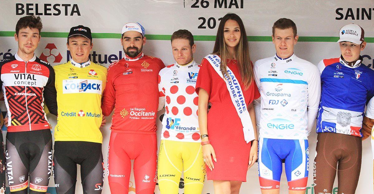 Tutte le maglie della Ronde de l'Isard 2019 (foto Rodella)