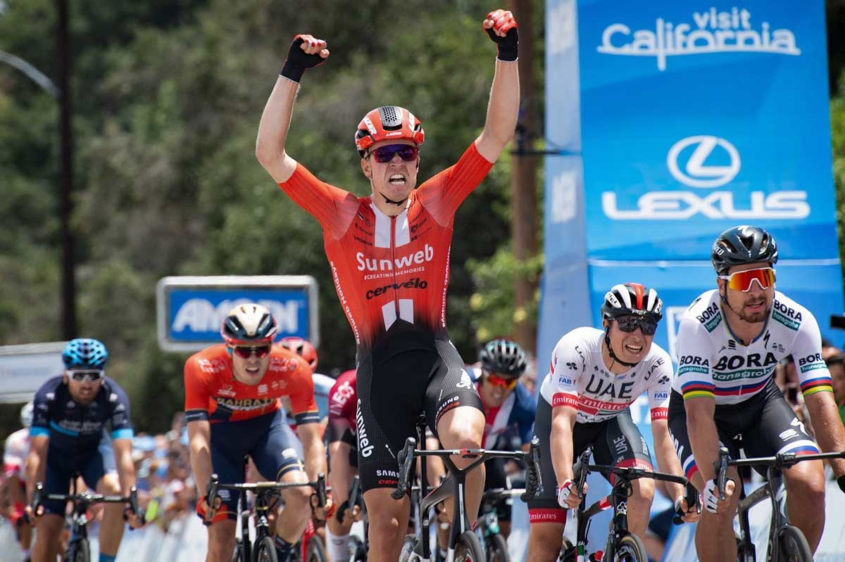 Cees Bol vince l'ultima volata del Tour of California 2019