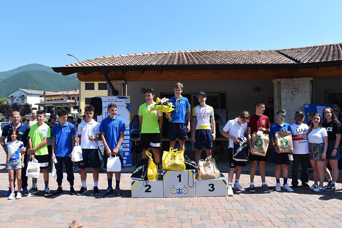 Premiazione Esordienti 2° anno a Monticelli Brusati (foto Luca Bontempi)