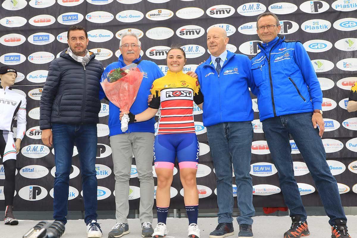 Emma Redaelli campionessa bergamasca Donne Allieve a Telgate (foto Fabiano Ghilardi)