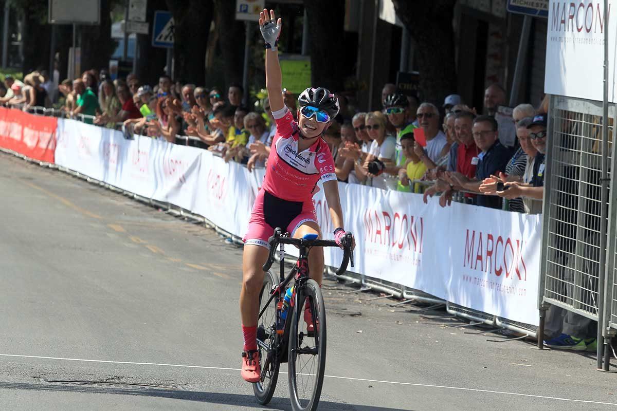 Beatrice Temperoni vince per distacco il Campionato Italiano Donne Esordienti 1° anno a Chianciano Terme (foto Fabiano Ghilardi)