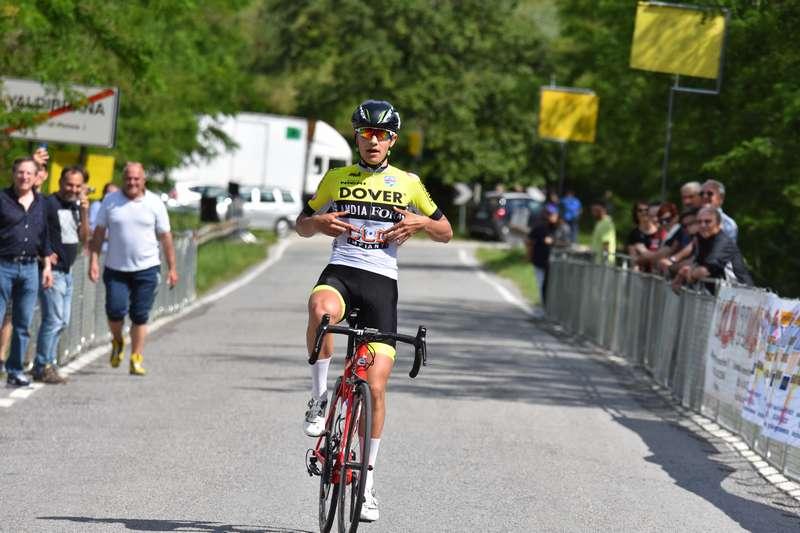 Matteo Regnanti vince a Valdibrana (foto Roberto Fruzzetti)