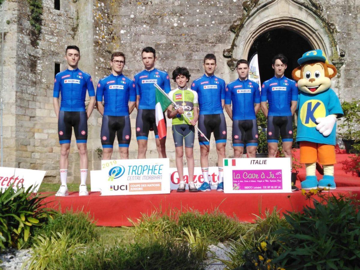 La nazionale italiana Juniores al Trophee Centre Morbihan