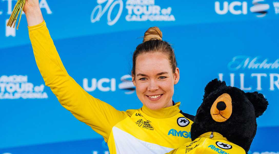 Anna van der Breggen vince il Women's Tour of California 2019