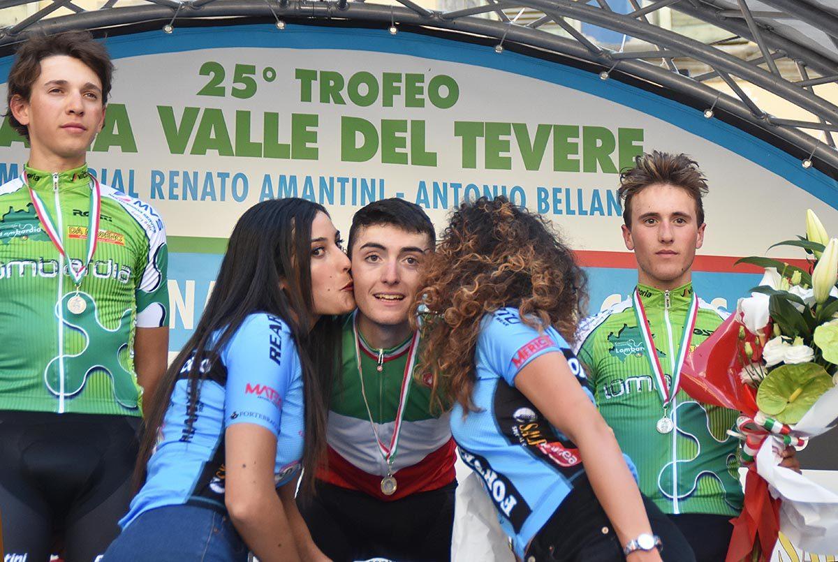 Gianmarco Garofoli è campione italiano Juniores 2019 a Città di Castello (foto Rodella)