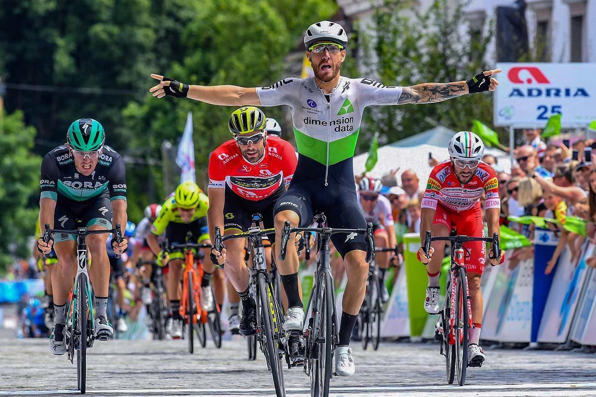 Giacomo Nizzolo vince l'ultima tappa del Tour of Slovenia 2019 (foto BettiniPhoto)