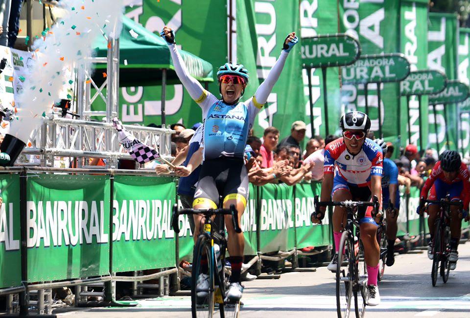 Arlenis Sierra vince la quinta tappa della Vuelta Femenina a Guatemala 2019 (foto Federación Guatemalteca de Ciclismo)