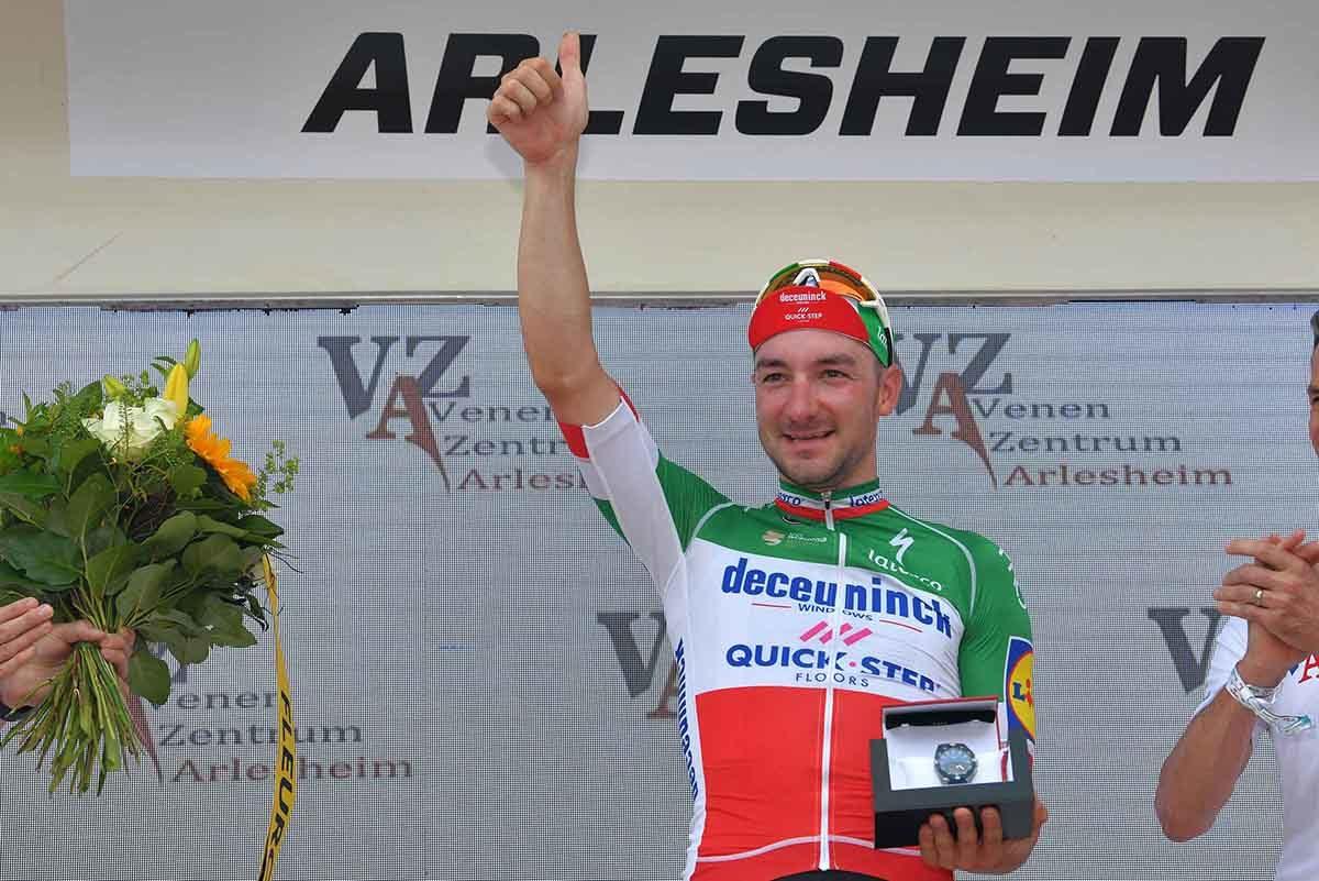 Elia Viviani ritrova il successo al Tour de Suisse (foto Getty Images)