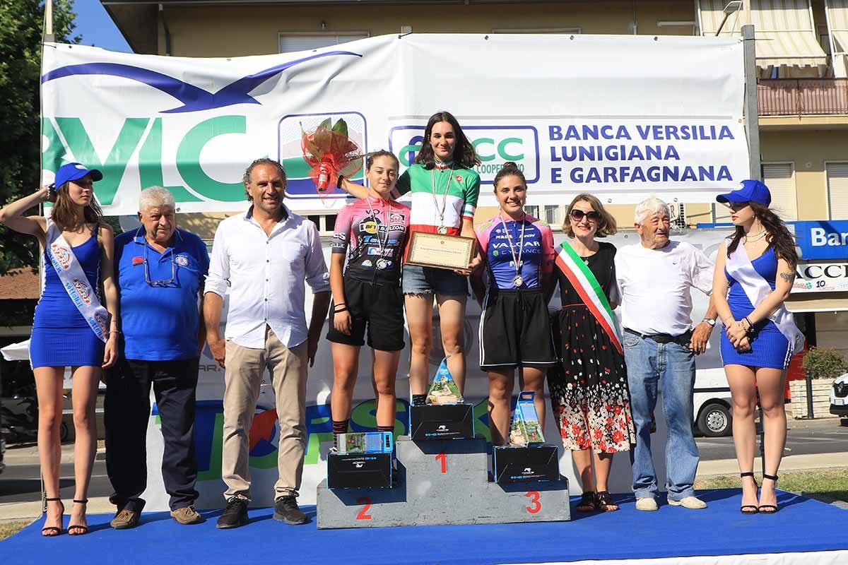 Campionato Italiano cronometro Donne Allieve vinto da Francesca Barale (foto Fabiano Ghilardi)