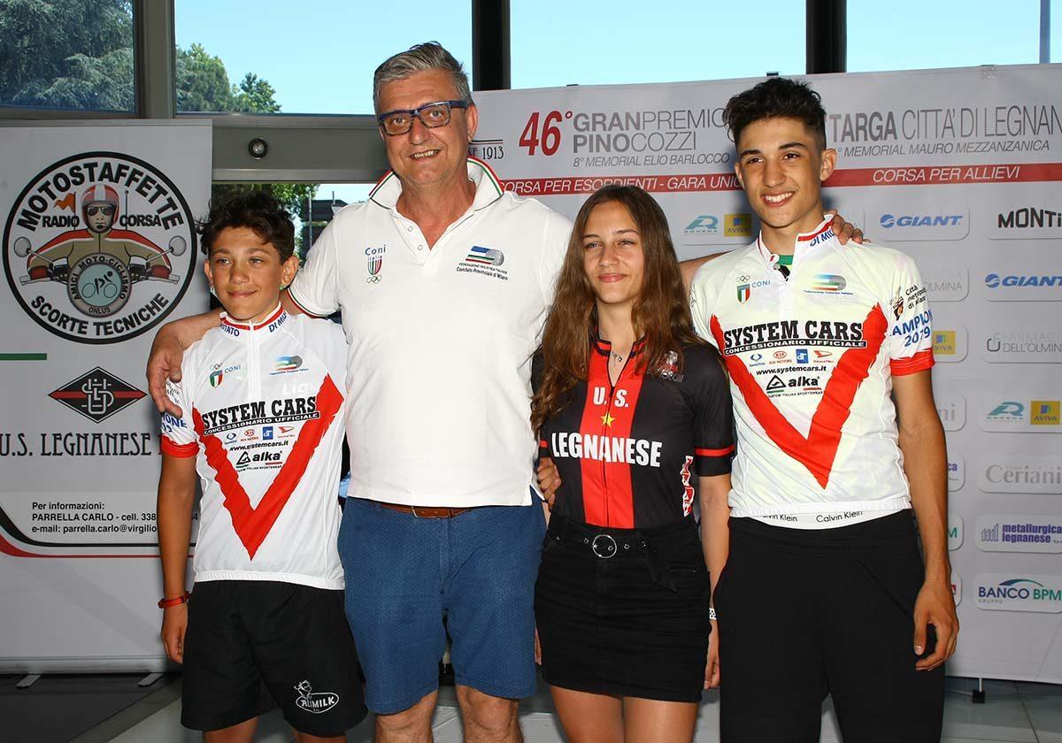 Nicolò D'Alessandro e Juan David Sierra campioni milanese Esordienti 2019 (foto Berry)