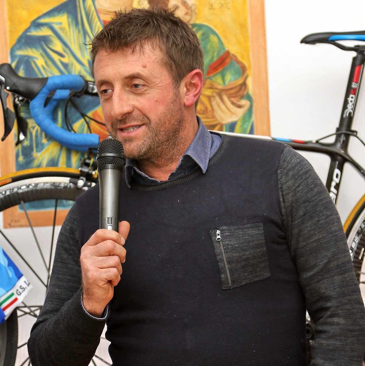 L'organizzatore Maurizio Petrucci (foto Photobicicailotto)