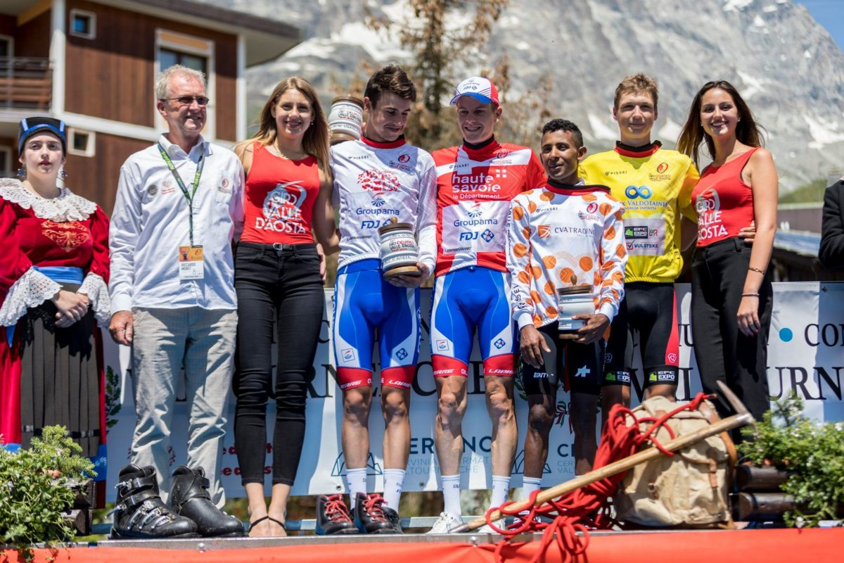 Tutte le maglie del Giro Valle d'Aosta 2019 (foto Giro VdA)